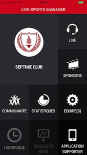 Live Sports Manager - náhled