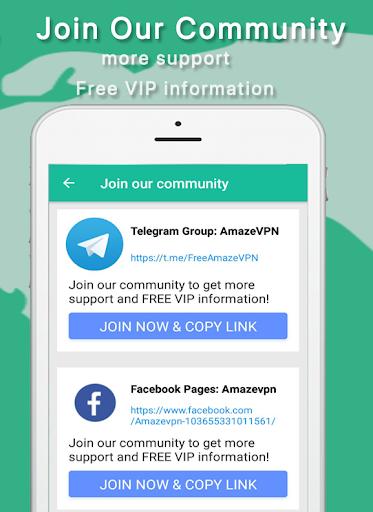Amaze VPN-Unlimited Free VPN proxy& Fast Turbo VPN 4.8 screenshots 2