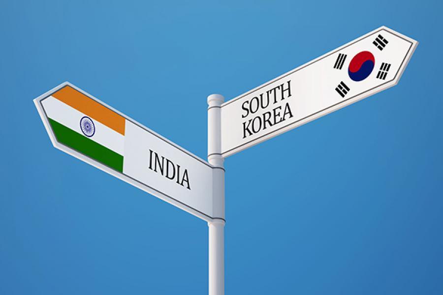 korean jobs in india
