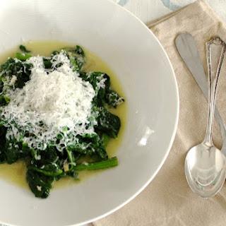 Parmesan Spinach