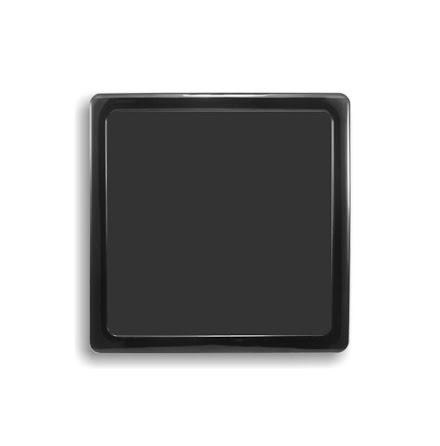 DEMCiflex magnetisk filter 200mm, firkantet, sort