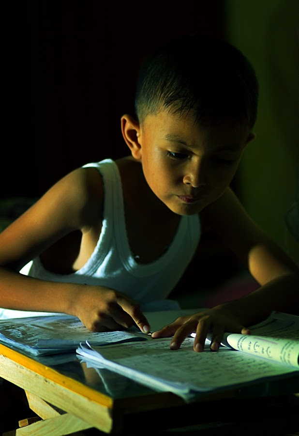 Belajar by Ryan Bones - Babies & Children Child Portraits