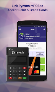 Pymnts for Merchant - Pay via Link, QR Code & mPOS - náhled