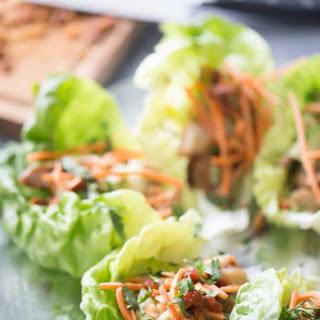 Easy Chicken Lettuce Wraps.