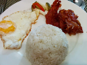Photo: Baconsilog Breakfast!