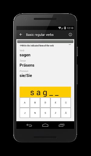 Verben - Trainer screenshot 4