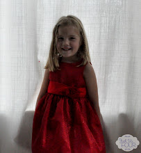 Photo: H is so excited to go on her daddy/daughter date in her new dress.