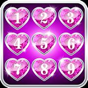 diamond hearts lock screen apps on google play
