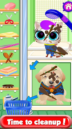 Messy Pets - Cleanup Salon 1.1.3 screenshot 2039390