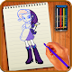 Learn to Draw Equestria Girls by Buzz Apps Club icon