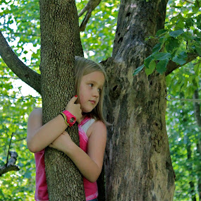 Up a Tree by Crystal Gibson - Babies & Children Children Candids