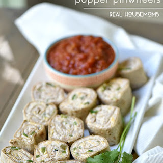 Chicken Jalapeno Popper Pinwheels