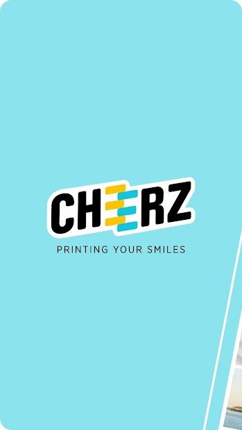 CHEERZ- Photo Printing Android App Screenshot