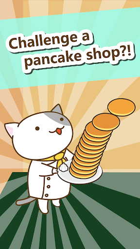 Pancake shop of cat