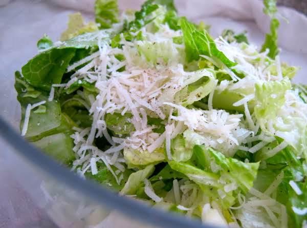 Creamy Caesar Salad