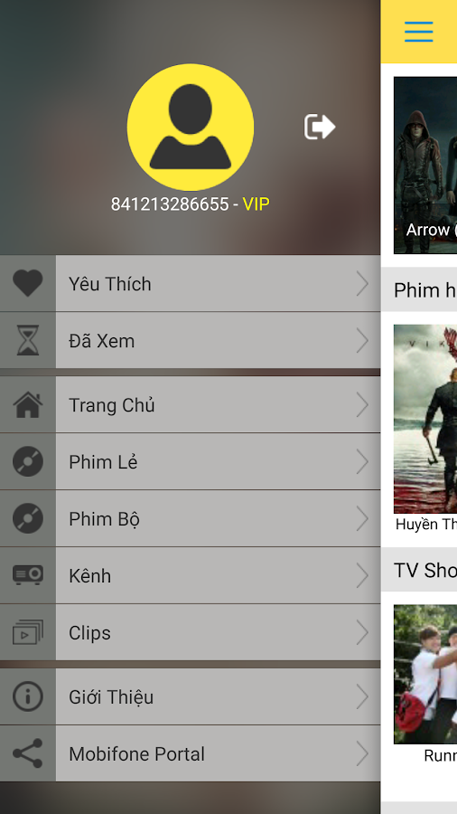 mHDViet MobiFone- screenshot
