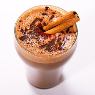 Spicy Aztec Hot Chocolate With Chili, Cinnamon, and Mezcal.