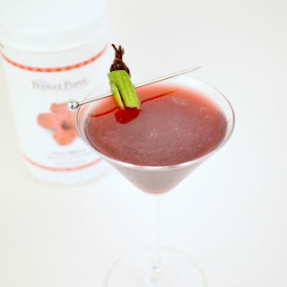 Perfect Hibiscus Cocktail