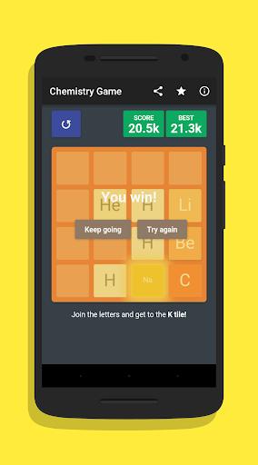 2048 Periodic Elements Game ud83dudd2c 1.0.2 screenshots 4