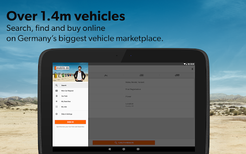 mobile.de – vehicle market Screenshot 9