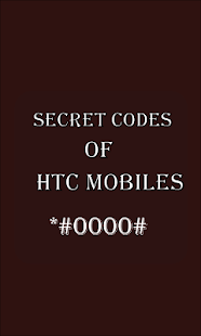 Secret Codes of Htc - náhled