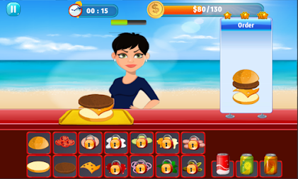 Burger Shop Crush APK screenshot thumbnail 1
