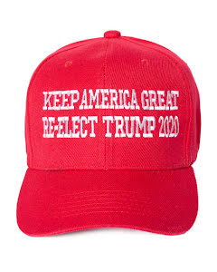 Keps, keep America great...