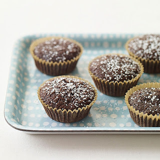 Mini Brownie Cupcakes