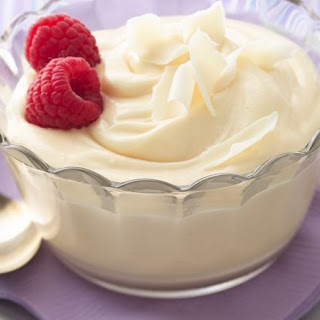 10-Minute White Chocolate Mousse.
