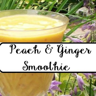 Peach & Ginger Smoothie Recipe