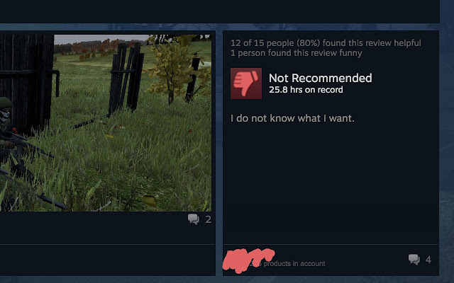 Steam Users Don't Know What They Want - Chrome Web Store