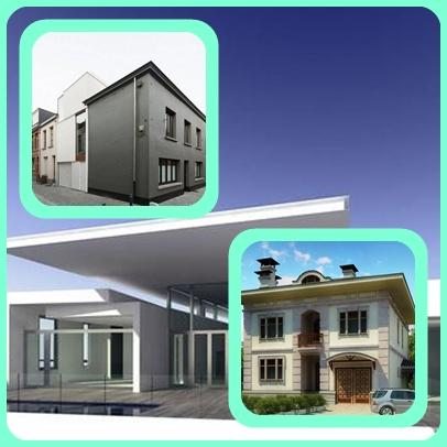 3d home design of exterior is the outside of our home which often