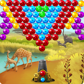 Africa Pop Bubble Shooter