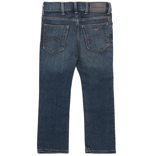 Thumbnail images of Emporio Armani Mid-Wash Jeans