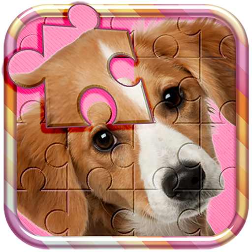 Cute Dogs Jigsaw Puzzle Game