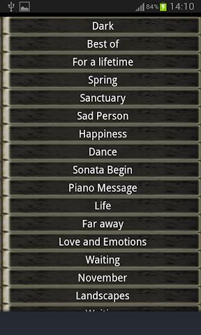 android Piyano Zil Sesleri Screenshot 1