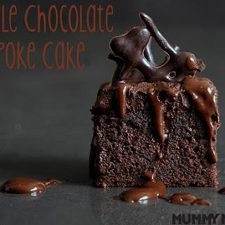 Triple Chocolate Poke Cake Recipe