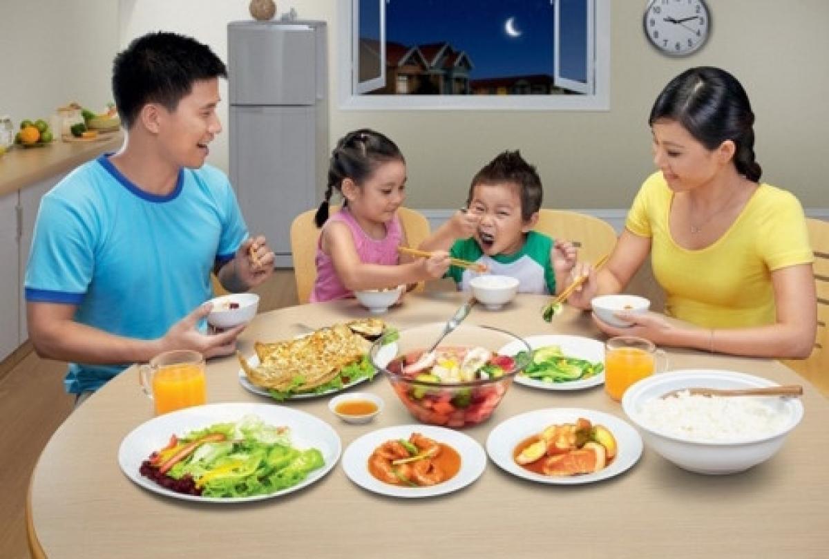 Dung tích máy rửa bát phù hợp với số lượng thành viên trong gia đình