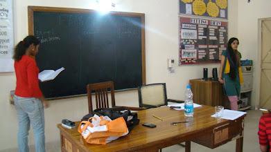 Photo: Session at Institute of Home Economics - Gendered Spaces. — at Institute of Home Economics, Hauz Khas. India