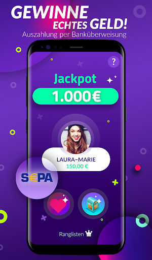 10 Runden - Live Quiz & Geld verdienen 0.99 screenshots 2