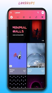 LiveDrops – 4K Live Wallpapers & HD Backgrounds (MOD, Premium) v1.1 1