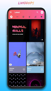 Download LiveDrops - 4K Live Wallpapers & HD Backgrounds For PC Windows and Mac apk screenshot 1