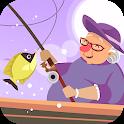 Fishing Granny - Funny,Amazing Fishing Game icon