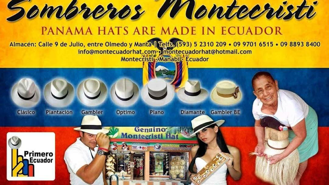 MontEcuadorHats (Panama hats) sombreros finos Montecristi Ecuador ... c6c6cca103b