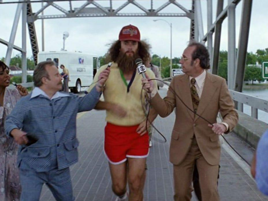 Tom Hanks Paid for the Running Scene to Be in 'Forrest Gump' Himself