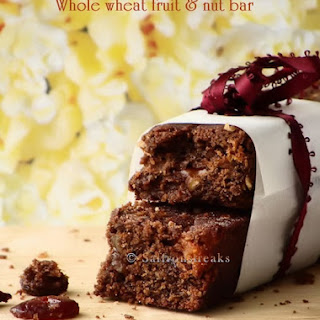 Whole Wheat Fruit And Nut Bar - Egg Free