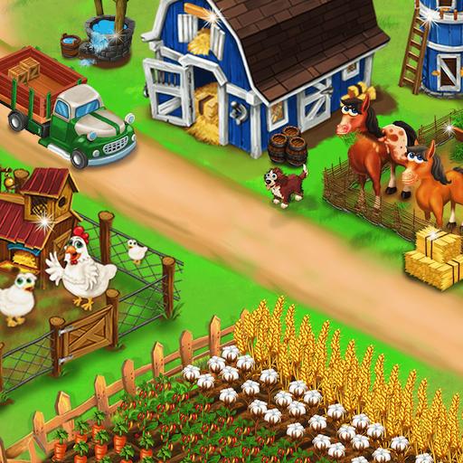Baixar My Farm Town Village Life: Best Farm Games Offline para Android