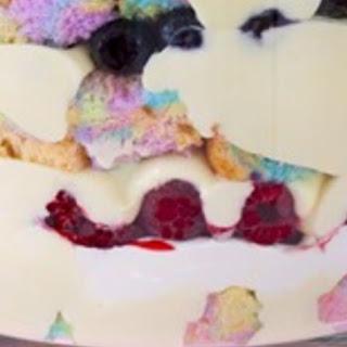 Double Rainbow Trifle.