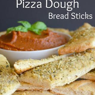 Easy Peasy Pizza Dough Breadsticks.