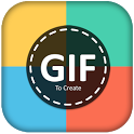GIF Maker app for whatsapp DIY - Happy Diwali gif icon